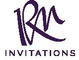RM Invitations & Design Logo