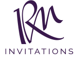 RM Invitations & Design Logo